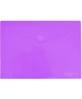 Sobre polipropileno violeta tamaño recibo