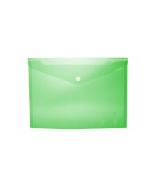 Sobre broche cuarto verde