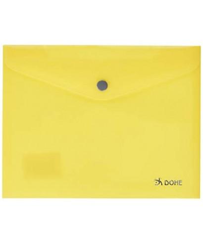 sobre broche cuarto amarillo