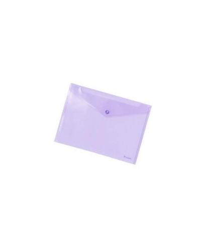 sobre broche cuarto violeta