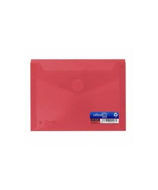 sobre velcro tarjeta rojo