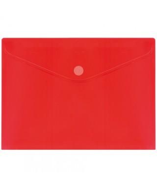 Sobre velcro A4 rojo grafoplas