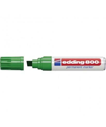 Rotulador permanente verde- EDDING - 800-004