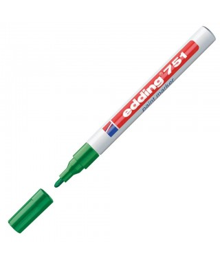 Rotulador permanente verde- EDDING - 751-004