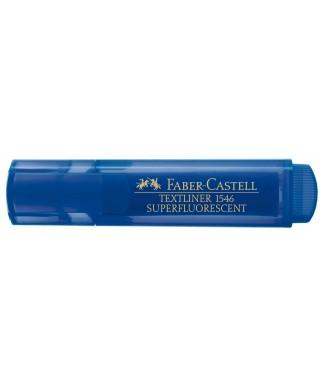 Marcador fluorescente Texliner 46 azul- FABER - 154663