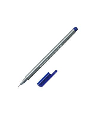 Rotulador triplus fineliner azul 3 staed