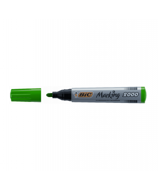 Rotulador permanente Marking 2000 verde - BIC