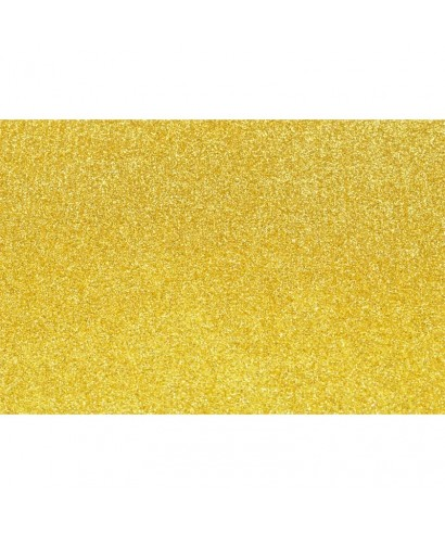 170c2497b0e Hoja goma eva con purpurina 40x60 oro