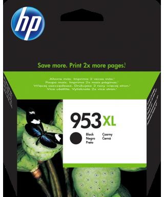 Cartucho para impresoras Hp modelo 953 en formato XL y color negro