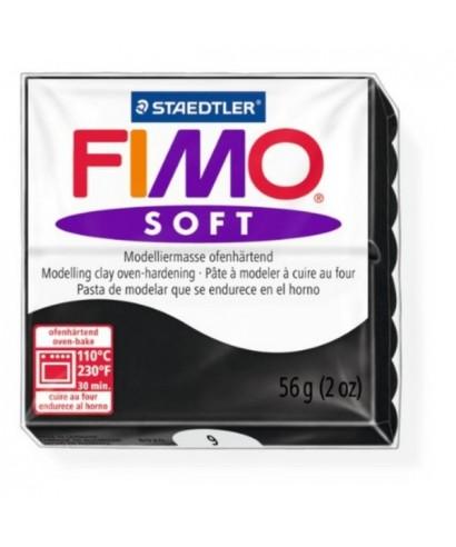 Pasta soft Fimo soft 56gr negro STAEDTLER