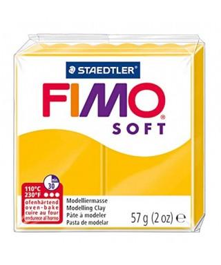 Pasta Fimo soft 56gr amarillo sol STAEDT