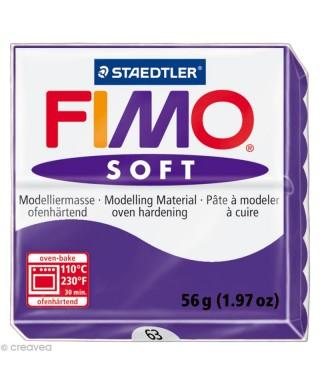 Pasta Fimo soft 56gr violeta real STAEDT