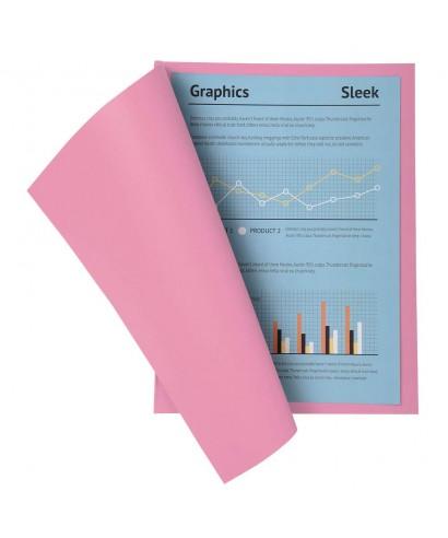 Subcarpetas con bolsa Exacompta rosa