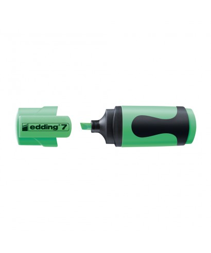 Marcador mini edding 7-064 verde