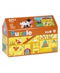 Puzzle granja 24 piezas APLI KIDS