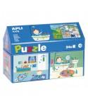 Puzzle casa 24 piezas APLI KIDS