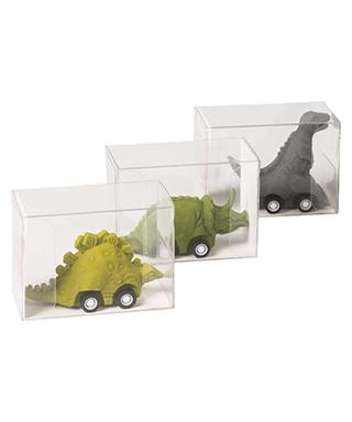 Goma de borrar Dinosaurios con ruedas