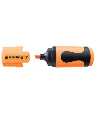 Marcador mini edding 7-066 naranja