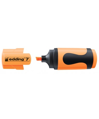 pequeño marcador edding 7-066 naranja