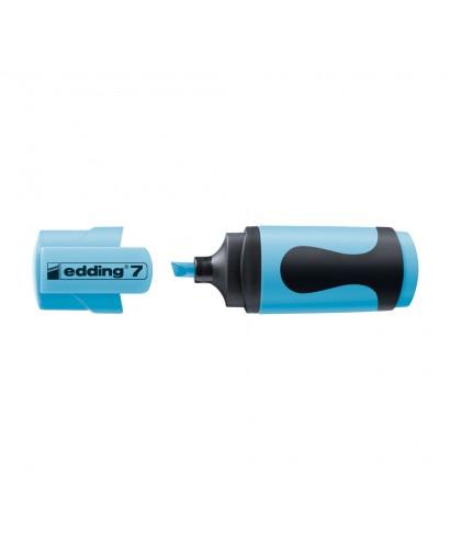 Marcador miniatura edding 7-063 azul