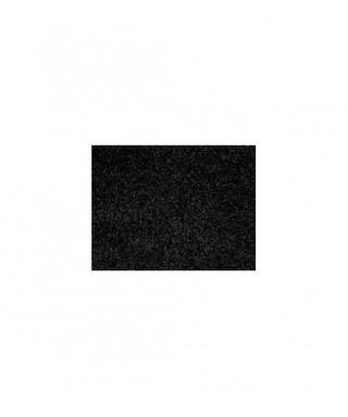 Hoja goma eva adhesiva negra purpurina 4