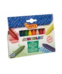 Caja 12 ceras colores surtidos Jovicolor