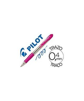 Bolígrafo Supergrip rosa- PILOT