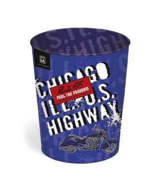 Papelera de la colección Route 66