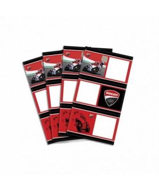 Blister con 12 etiquetas Ducati