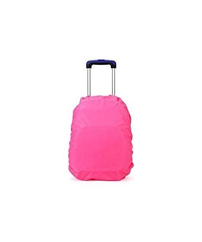Fundas para mochilas impermeables rosa S
