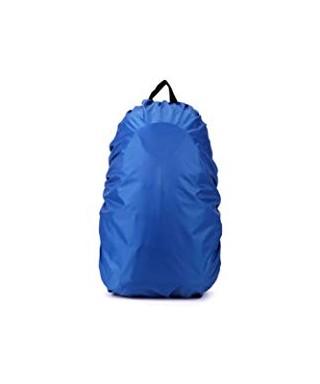 Fundas para mochilas impermeables azul S