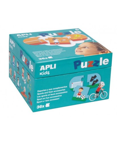 Puzzle deportes 36 piezas APLI KIDS