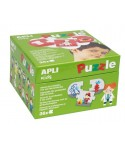 Puzzle profesiones 36 piezas APLI KIDS