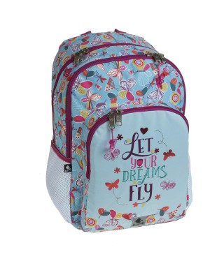 Mochila escolar doble Let your dreams fly. BUSQUETS