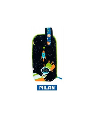 Portatodo con cuatro estuches Handly multipencilcase Space. MILAN