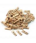 Pinzas madera pequeñas pack 30 unidades. – GRAFOPLAS - 68005800