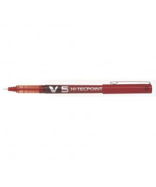 V5 bolígrafo rojo pilot