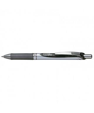 Bolígrafo retráctil tinta gel negro BL77 PENTEL