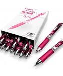 Bolígrafo retráctil tinta gel rosa BL77 PENTEL
