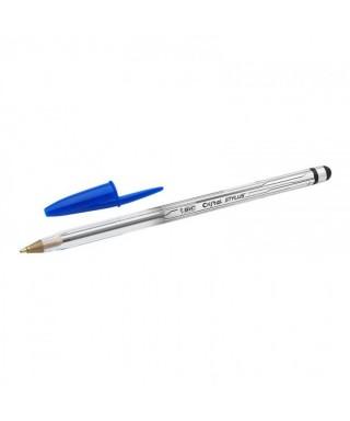 Bolígrafo azul con puntero- BIC