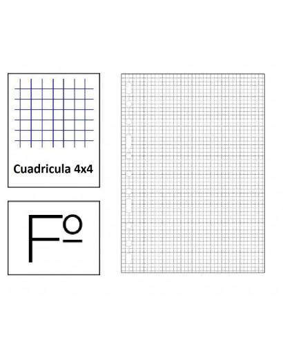 Recambio Fº 80hojas Multitaladro cuadric