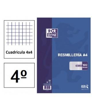 Recambio 4º cuadriculado 4 taladros- OXFORD - 100430206