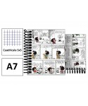 Cuaderno A7 forrado Mafalda Comic