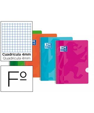 Cuaderno tapas de plástico cuad OXFORD