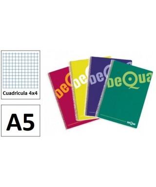 Bloc 4º cuadriculado- DEQUA - 16733 / 16664