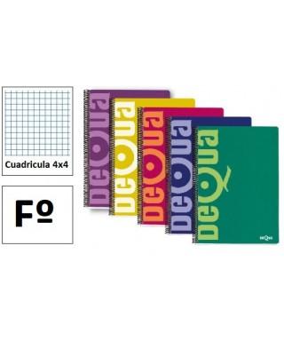 Cuaderno folio cuadriculado normal- 16418/16660