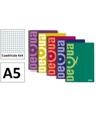 Cuaderno cuadriculado 4º 80 hojas- DEQUA