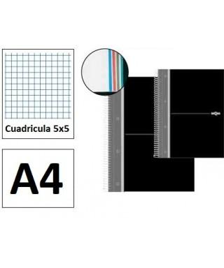 Cuaderno A-4 160 hojas- DEQUA - 16634