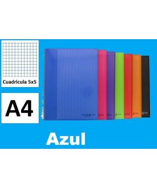 Cuaderno azul multiline A-4 microperforado- GRAFOPLAS - 88525030