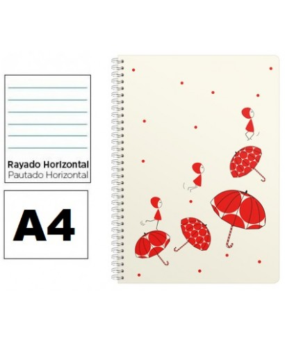 Cuaderno Nina A4